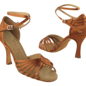 SERA1139 Dark Tan Satin