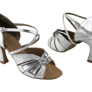 S92307 Silver Scale & Silver Leather