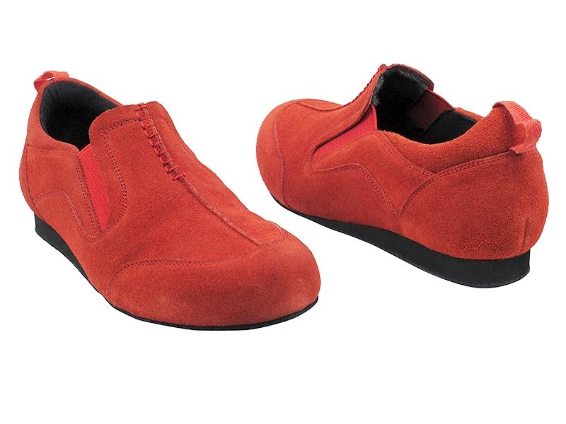 SERA701BBX Red Suede - Discount Salsa Shoes 5e9cb1b4b
